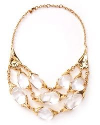 Alexis Bittar - Large 3strand Texture Necklace - Lyst