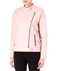 J Brand Dorothy Leather Jacket - Lyst