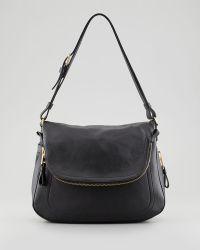 Tom Ford Jennifer Large Shoulder Bag Black black - Lyst