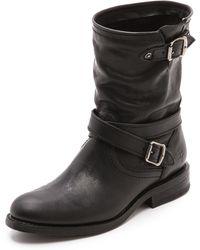 Frye - Jayden Cross Engineer Boots - Lyst