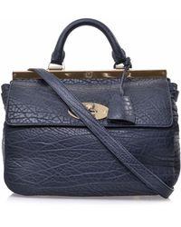 Mulberry Suffolk Shrunken Leather Bag - Lyst