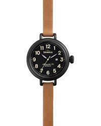 Shinola The Birdy Natural Strap Wrap Watch 34mm - Lyst
