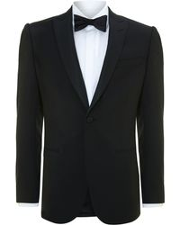 Hardy Amies Slim Fit Tuxedo with Peak Lapels - Lyst