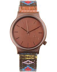 Komono Leopard Wizard Watch - Lyst
