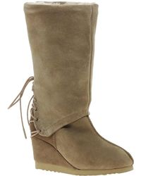 Love From Australia - Roxanne Wedge Boots - Lyst