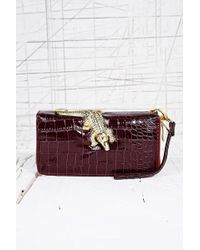 Urban Outfitters - Crocodile Embossed Wallet - Lyst