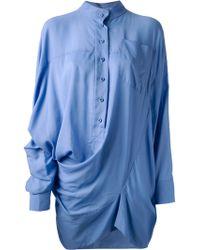 Bernhard Willhelm - Oversized Shirt - Lyst