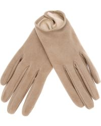 Giorgio Armani - Giorgio Armani Leather Gloves - Lyst