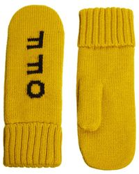 Fred Perry - Monki Tanja Hands Off Mittens - Lyst