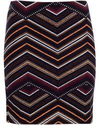 Pull&Bear Print Skirt - Lyst