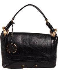 Roberto Cavalli Medium Leather Bag - Lyst