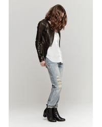 Wayne - Comet Leather Jacket - Lyst