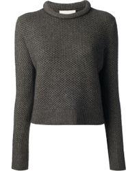 3.1 Phillip Lim Textured Wool Blend Sweater - Lyst