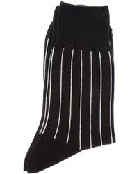 Comme des Garçons Striped Jersey Socks