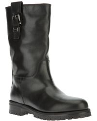 Dolce & Gabbana Buckled Boot - Lyst