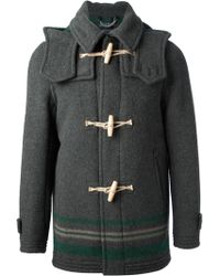 Harnold Brook - Hooded Duffle Coat - Lyst