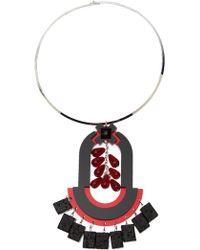 Holly Fulton - Geometric Choker Necklace - Lyst