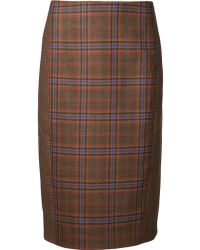 Jenni Kayne - Cut Out Pencil Skirt - Lyst