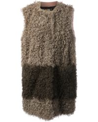 MSGM Fur Gilet - Lyst