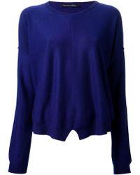 Tom Scott | Round Neck Sweater | Lyst