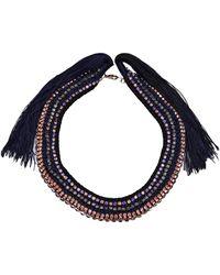 Alyssa Norton - Chain Braided Necklace - Lyst