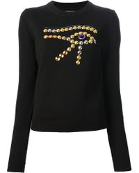 Chloë Sevigny For Opening Ceremony Embellished Sweater - Lyst