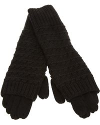 Duffy - Knitted Gloves - Lyst
