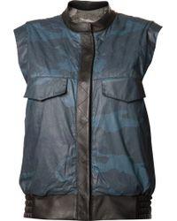 Gryphon - Reversible Vest - Lyst
