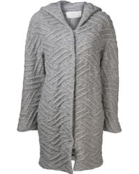 Thakoon Addition - Cable Knit Coat - Lyst