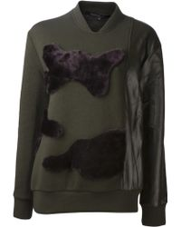 Timo Weiland   Sylvie Bomber Pullover   Lyst
