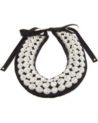 A'n'd - Pearl Print Padded Necklace - Lyst