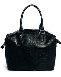 ASOS - Holdall Bag in Croc - Lyst