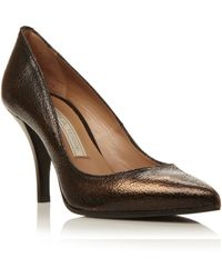 Pied a Terre | Amisp Pointed Single Sole Court Shoes | Lyst