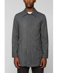 Urban Outfitters Shades Of Grey By Micah Cohen Herringbone Mac Jacket - Lyst