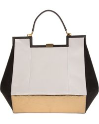 Vionnet Colour Block Tote - Lyst