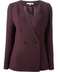 Carven Double Breasted Blazer - Lyst
