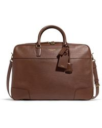 COACH | Crosby Soft Suitcase in Box Grain Leather | Lyst