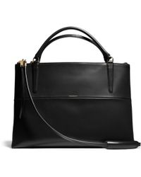 Coach The Large Borough Bag in Polished Calfskin - Lyst
