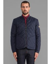 Penfield Landrum Quilted Jacket in Navy - Lyst
