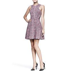 Proenza Schouler Full Printed Crossfront Dress - Lyst