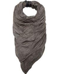 Tissu Tire - Textured Scarf - Lyst