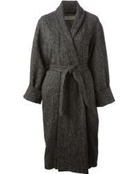 Christophe Lemaire - Belted Coat - Lyst