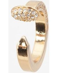 Giles & Brother - Crystalized Nail Ring - Lyst