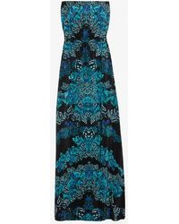 Twelfth Street Cynthia Vincent - Exclusive Printed Strapless Maxi Dress - Lyst