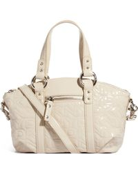 DKNY Active - Quilted Logo Satchel - Lyst