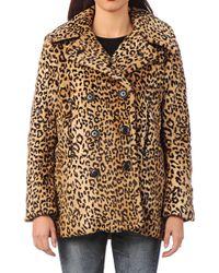 Denim & Supply Ralph Lauren - Mid Coat W32jph01t4vcfbvtc Peacoat - Lyst