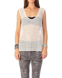 Iro Sleeveless Top Axel - Lyst