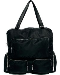 Monki - Debbie Oversized Zipped Bag - Lyst