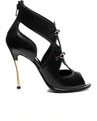 Nicholas Kirkwood Leather Opentoe Sandals - Lyst