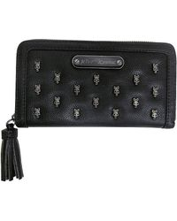 Betsey Johnson - Skull Squad Faux Leather Wallet - Lyst
